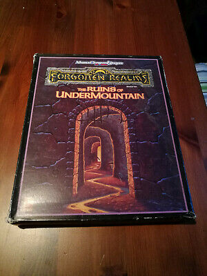 Forgotten Realms - The Ruins of Undermountain - Campaign Expansion AD&D - engl.