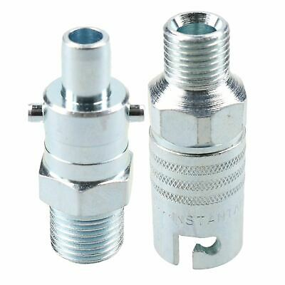 "PCL Instant Air Coupler 1/4"" BSP Male Thread & Bayonet Male Adaptor Fitting"