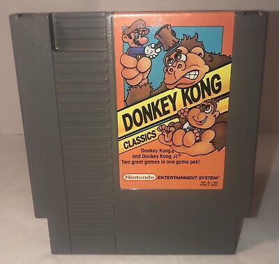 Donkey Kong Classics (1988) 100% Original authentic!