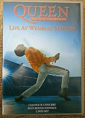QUEEN - THE DVD COLLECTION LIVE AT WEMBLEY STADIUM (DVD 2-Disc)