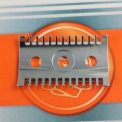 Replacement Spare Part Merkur 3 Piece Bottom Plate Open Comb
