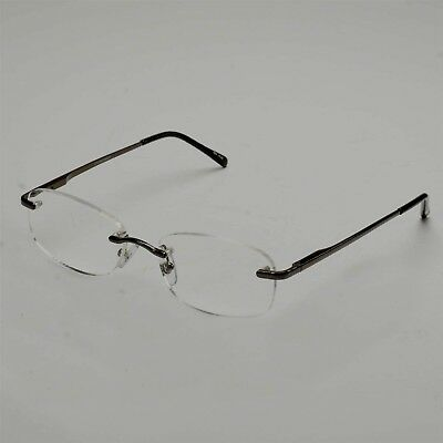 ed639a06549e FOSTER GRANT TECH +1.50 Reading Glasses Gunmetal Frame ASHTON GUN ...