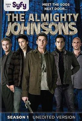 The Almighty Johnsons Season 1 - Syfy Tv Show About Norse Gods 3 DVD Set 2014