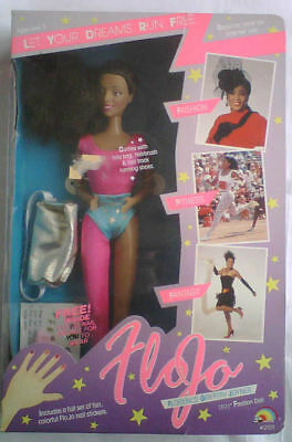 Orig.doll Florence Griffith Joyner (USA) - 3 x Gold Olympics Seoul 1988 / in Box