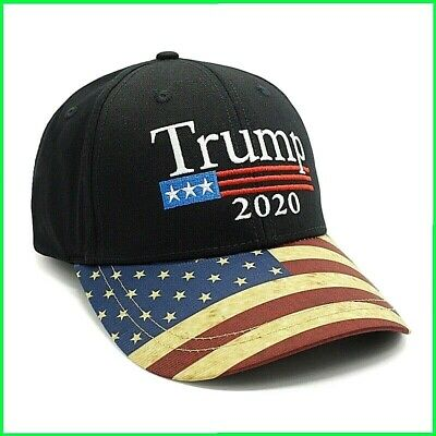 96308a716 MADE IN USA, Trump Make American Great Again Embroidered Cuff Folded ...