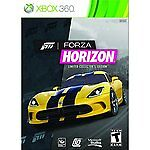 Forza Horizon -- Limited Collector's Edition (Microsoft Xbox 360, 2012)