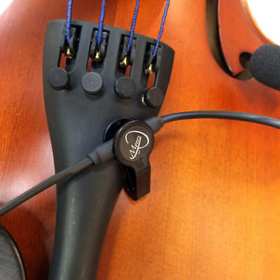 """""""THE FEATHER"""" MONTAGNANA CELLO MICROPHONE by Myers Pickups"""