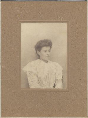 Portrait of the Mother Photography Vintage Analogue Courbevoir August 1909