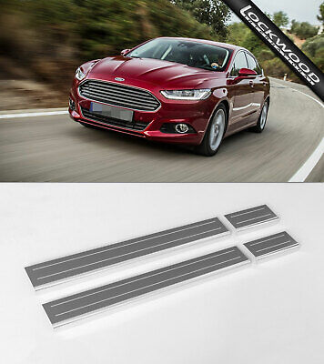 Ford Mondeo MK5 (released 2014) Stainless Steel Sill Protectors / Kick Plates