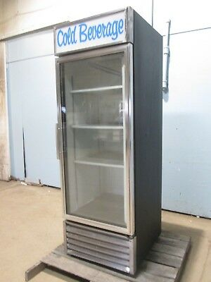 """True"" Hd Commercial Lighted Refrigerated Cold Beverage Merchandiser Display"