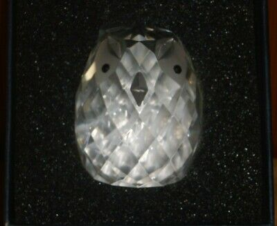 Exquisite Glass Crystal Swan OWL New Gift Boxed