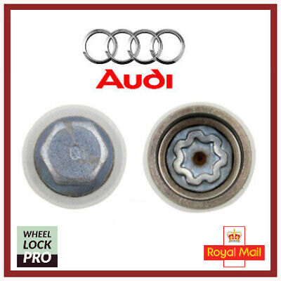 Audi New Locking Wheel Nut Key Bolt Letter Q '814' UK Fast and Free