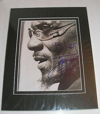 Jimmy Cliff - Hand Signed Autographed  Photo with COA - Matted