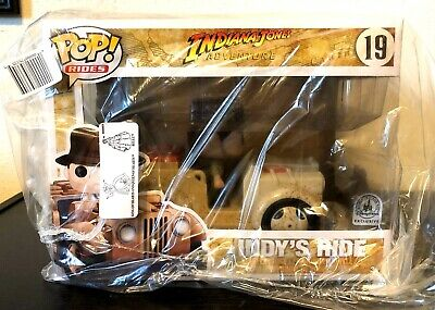 Funko Pop! Indy's Ride #19 Disney Parks Exclusive