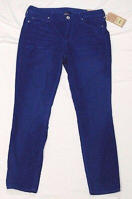True Religion Halle women's pants super skinny cropped blue size 29 new tags