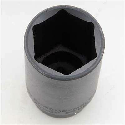 "W156 34Mm Deep Impact 6 Pt Hex Axle Nut Socket, 1/2"" Drive Black Moly Steel New"