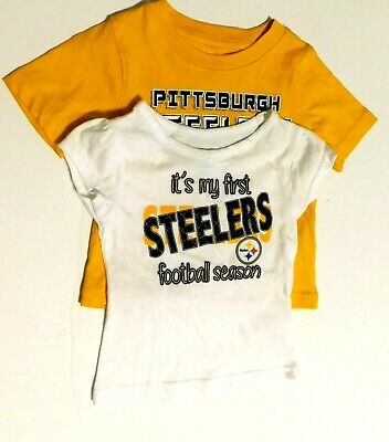 NFL Team Apparel Kids Pittsburgh Steelers  Toddlers T-Shirt