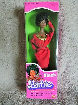 1979 Black Barbie Mint In Nice Box, Great Display Doll