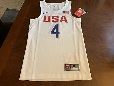 huge discount a4c9c 468f0 NIKE USA BASKETBALL Stephen Curry Youth Jersey Size Medium 836033-101 RARE