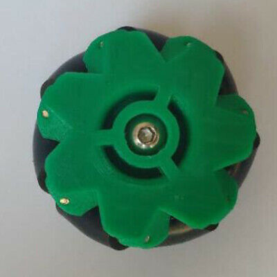 Omnidirectional Wheel Any Direction Can Move w/Coupling Equipped 3/4/5/6/7mm