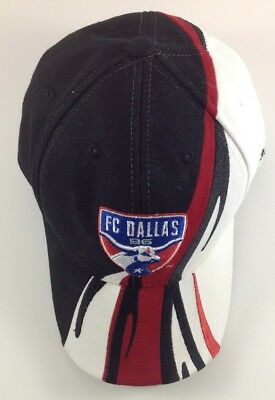 quite nice 6504a a00f9 FC Dallas 96 MLS Adidas Hat Cap Black White Red Adjustable One Size Fits All