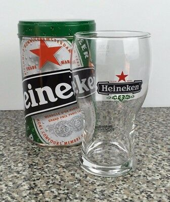 Heineken Experience Amsterdam Lager Beer Glass 0.25l Collectors Superb Condition