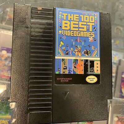 Super Games Best 100 Nintendo NES Cartridge Multicart - Newest Version!