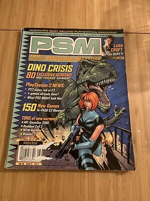 PLAYSTATION PSM MAGAZINE Issue 24 August 1999 Dino Crisis
