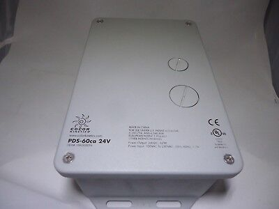CK Color Kinetics 109-000017-03 PDS-60 DMX//Ethernet Power Supply 100-240Vac