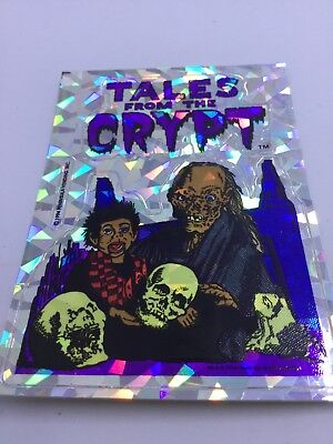 Tales From the Crypt 90s Decal Sticker Crypt Keeper Prism Sticker Ventriloquist
