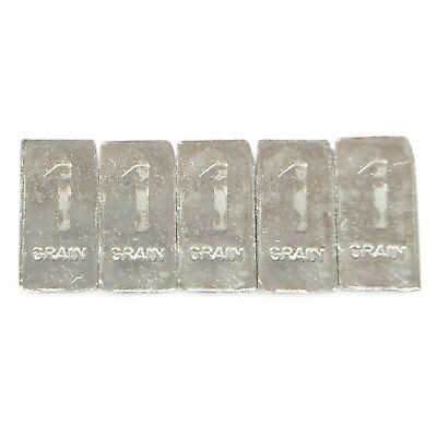 FIVE 1 Troy Grain PLATINUM Bullion Micro Bars Pure.999 Fine Fast Free USA Ship