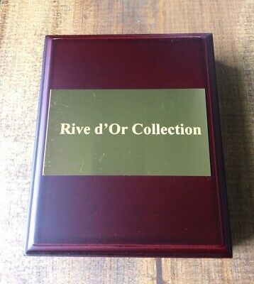 Rive d'Or Collection Coin Box-Wooden Box-Holds One Graded Coin-No Coin Included