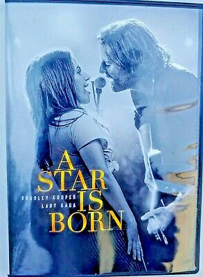 A Star Is Born - Free Shipping - Bradley Cooper Lady Gagan Viewed once 2019 DVD