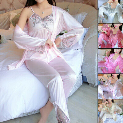 Pajama Night dress Ladies Soft Nightwear Vest Lingerie Lounge pants Housewear