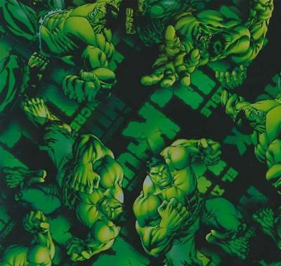 incredible hulk hydrographic film hydro dipped 100cm width, various lengths