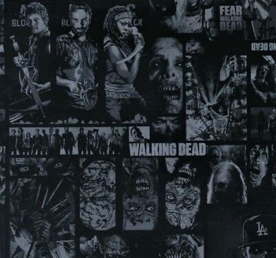 Walking dead hydrographic film hydro dipped 100cm width, various lengths