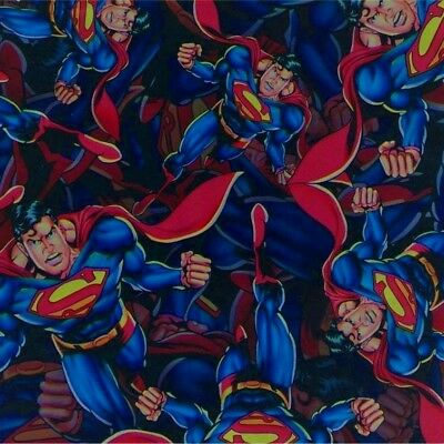 Superman hydrographic film hydro dipped 50cm width, various lengths