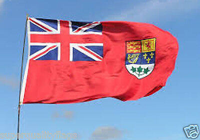 NEW 3x5 ft RED CANADA NAVY NAVAL ENSIGN PRE1965 CANADIAN FLAG better quality us