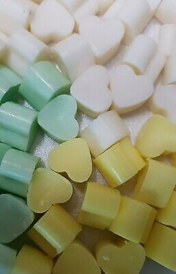 50 Highly Scented Eco Soy Wax Melts dupe type aftershave/perfume vegan friendly