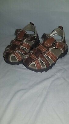 4fa7ee0a34e6 CARTERS BOYS Boot Shoes Toddler Size 7 Brown yellow Nwt -  14.00 ...
