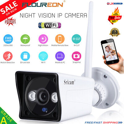 1080P HD Wireless Wifi IP Camera IR Security Webcam Baby Monitor Detection CAM A