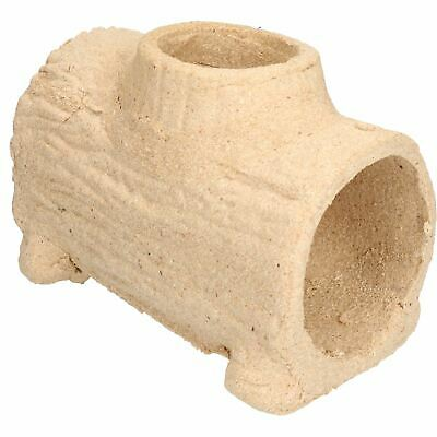 Pet Treat Hideaway Guinea Pigs, Chinchillas and Rats Edible Play Log 13x17x22cm