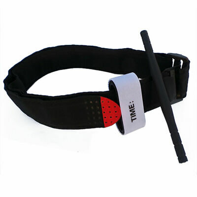 Nylon First Aid Tourniquet Medical Emergency Buckle Quick Slow Release Strap