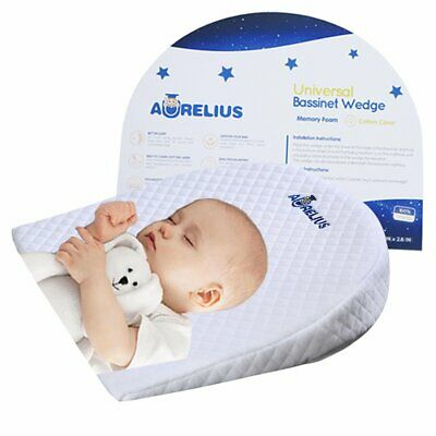 Aurelius Baby Sleep Pillow cuscino a cuneo di reflusso 12 gradi inclinazione ...