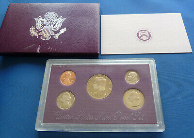 United States S Proof Coin Set 1989