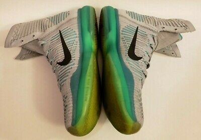 official photos 242be d6f95 Nike Kobe X Elite Elevate Wolf Grey Green MENS Size 8.5 718763-041 PRE-