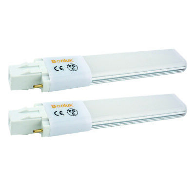 6W GX23 2-Pin LED PL Retrofit Lamp CFL Replacement Horizontal Recessed Bulb