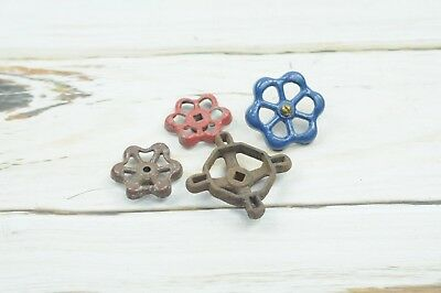 4 Vintage Water Valve Faucet Handles Knobs Steampunk  #7