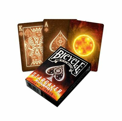 Bicycle Stargazer Sunspot Poker Playing Cards Deck New Sealed