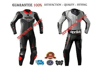 Aprilia Motorbike/Motorcycle Racing Leather Suit. All size Available